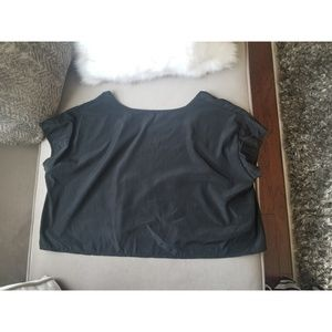 American  Apparel  One size oversized  crop top